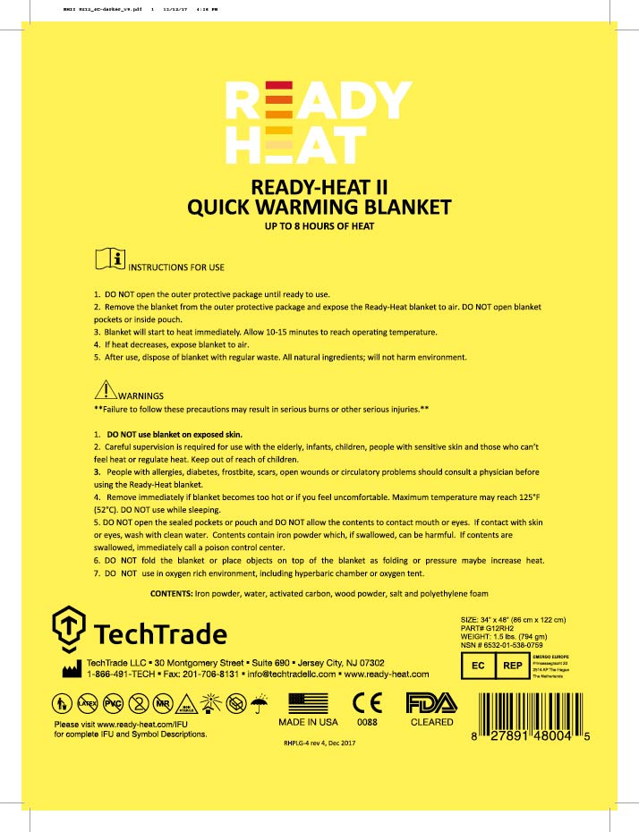 Ready-Heat sheet